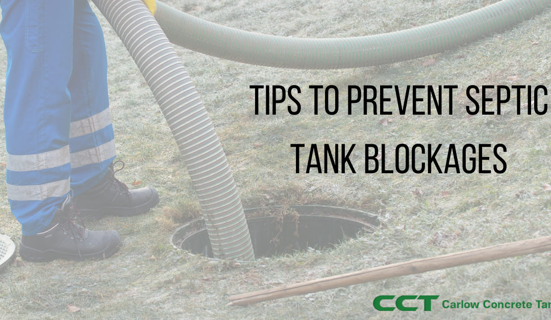 Tips to prevent septic tank blockages