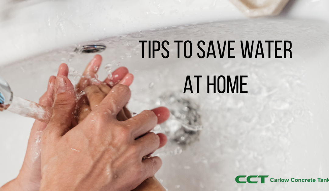 Tips to save water in your home