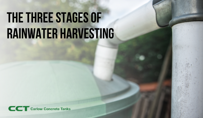 The Three Stages of Rainwater Harvesting
